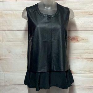 Maeve Black Sleeveless Top Size S